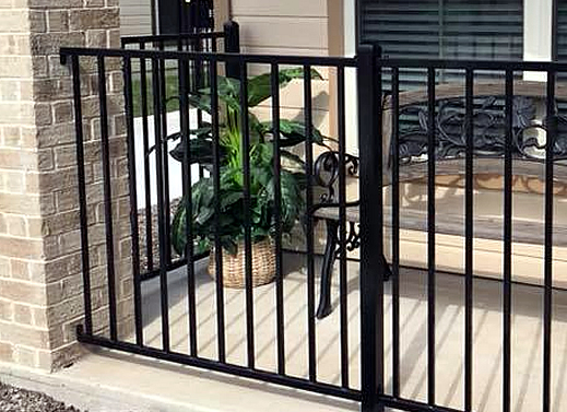 Wrought Iron Fence Pool Fence Decorative Ornamental